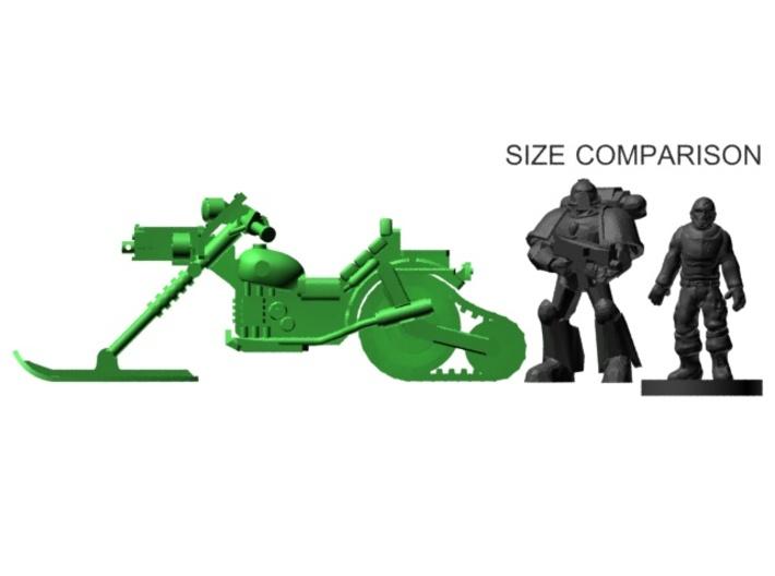 28mm Astrobike Ski x3 3d printed