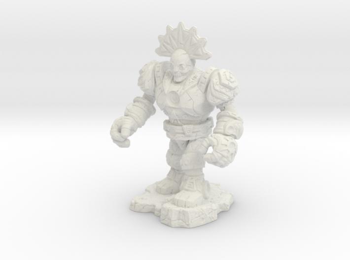 Eztlachtli-War Of The Ravaged Board Game Mini 3d printed