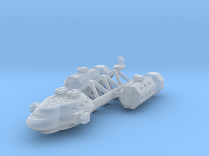 Telgar Frigate 3d printed