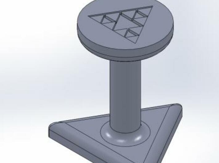 Sierpinski Gasket Seal 3d printed