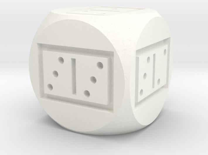 Domino d6 3d printed
