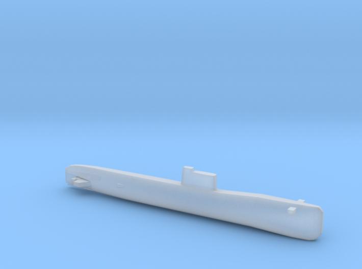 Tango-class SSK, Full Hull, 1/1800 3d printed