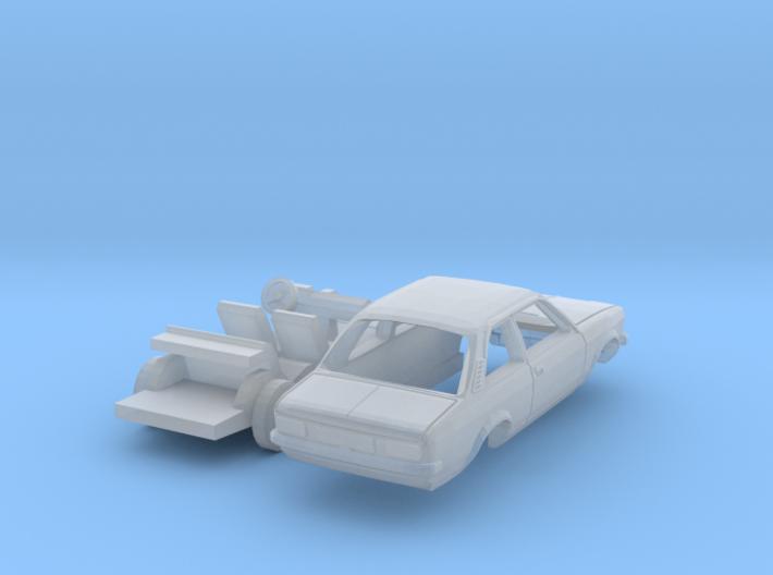 Opel Kadett Limousine (TT 1:120) 3d printed
