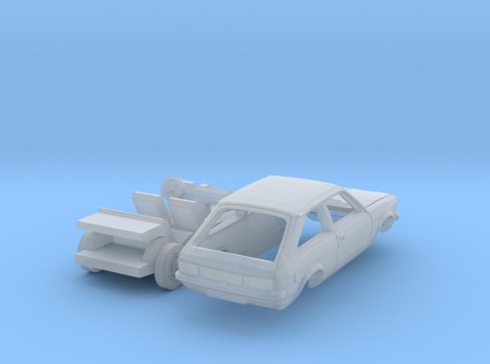 Opel Kadett City (TT 1:120) 3d printed