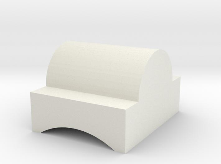 concave nub 3d printed