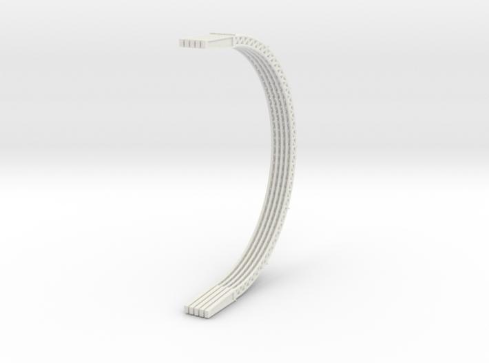 1/64 (S Scale) Hoop Barn Rafter x5 3d printed