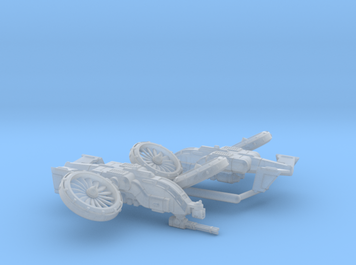 6mm Light VTOL Gunship (2) 3d printed