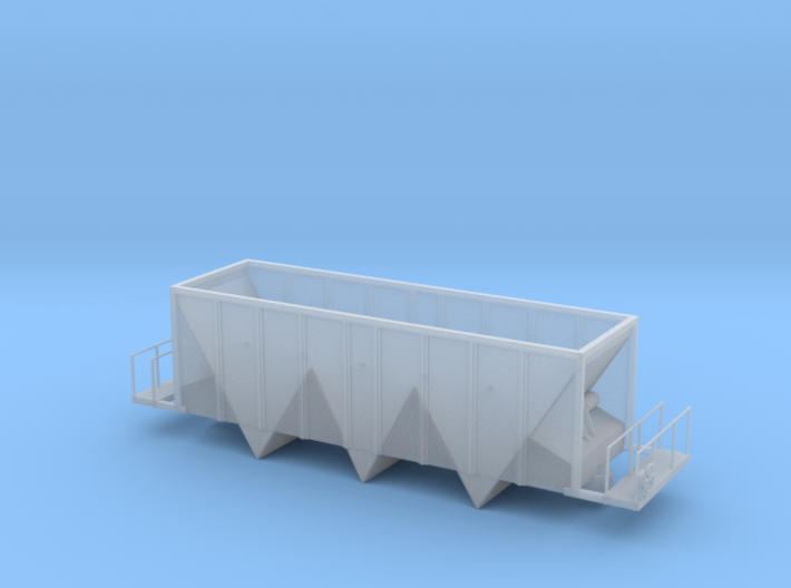 Aggregate Gondola III - HOscale 3d printed