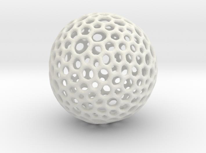 mesh sphere 3d printed