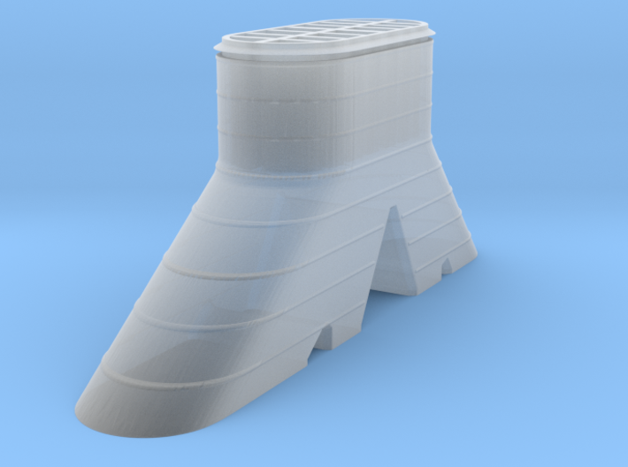 IJN Amagi Trunked Funnel700 3d printed