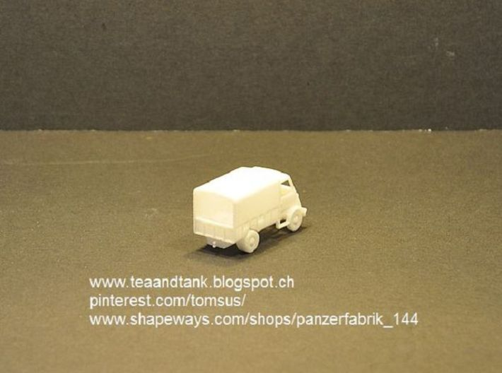 1/120 Peugeot DMA in TT scale 3d printed