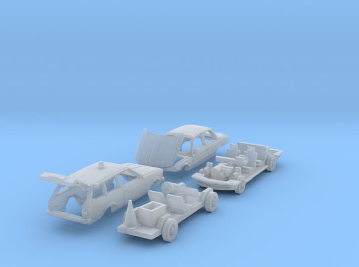 SET Straßenwacht (N 1:160) 3d printed