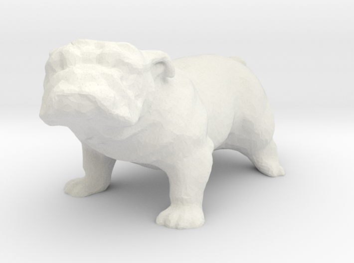 G scale bulldog H 3d printed This is a render not a picture