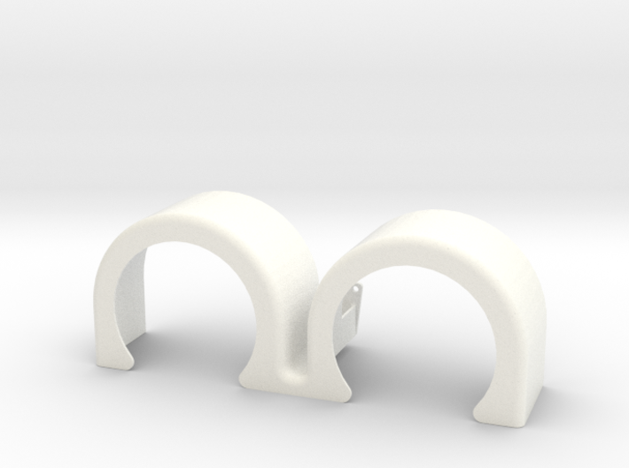 double hump fender 2 3d printed