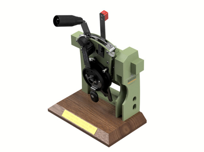 HFP-101080 Gear Indication Switch Holder 3d printed