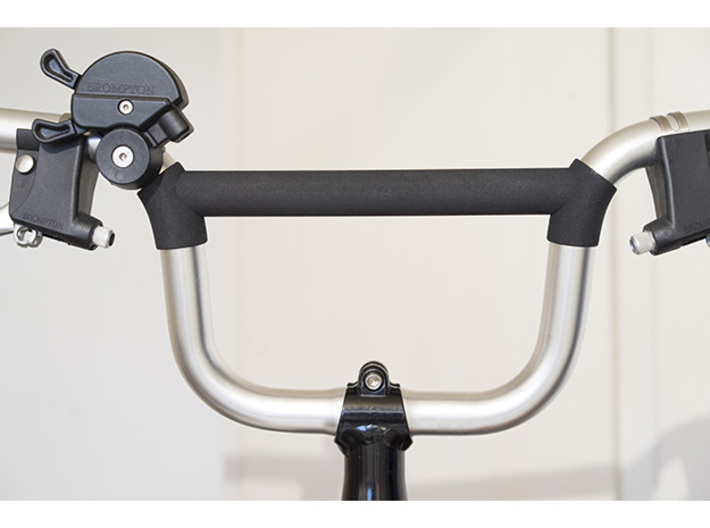 Bridge extender for Brompton M type (pre-2017) 3d printed On a pre 2017 Handlebar