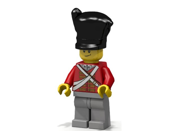 Scotts Hat 3d printed British Scott Infantry (Render of an example Usage)