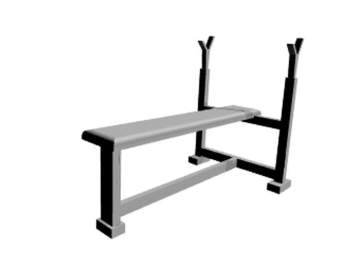 Bench press pen holder 3d printed