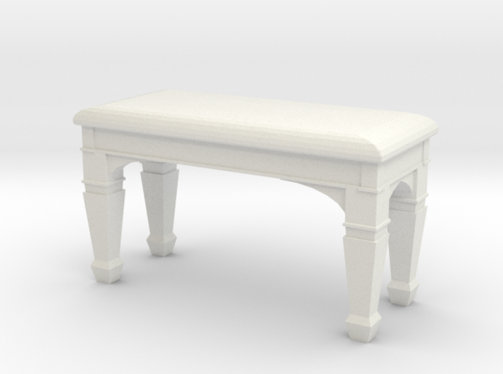 1:48 Piano Bench 3d printed
