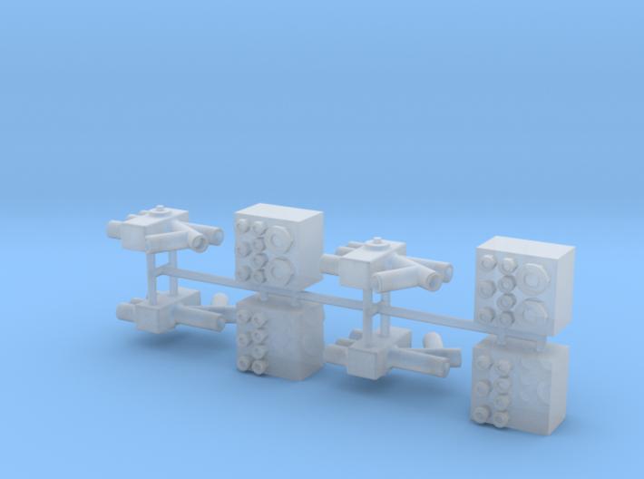 BARREL VALVE 1-8 scale 3d printed