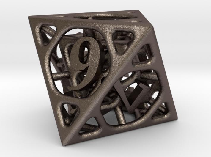 Cage Die8 3d printed