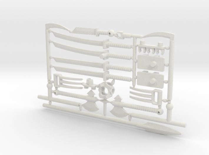 Martial Arsenal Ninja Weapon frame for ModiBot 3d printed Martial Arsenal ninja weapon frame for ModiBot