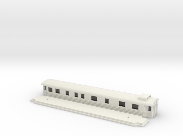 Bo7 - Swedish passenger wagon 3d printed