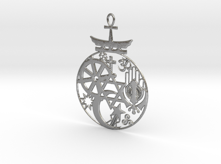 Religions Pendant 3d printed