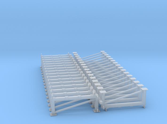 OO/EM/P4 Lightweight Platform Supports x 32 3d printed
