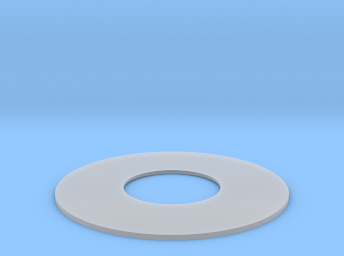 YT1300 5 FOOTER DOCKING RING DETAIL PLATE 3d printed