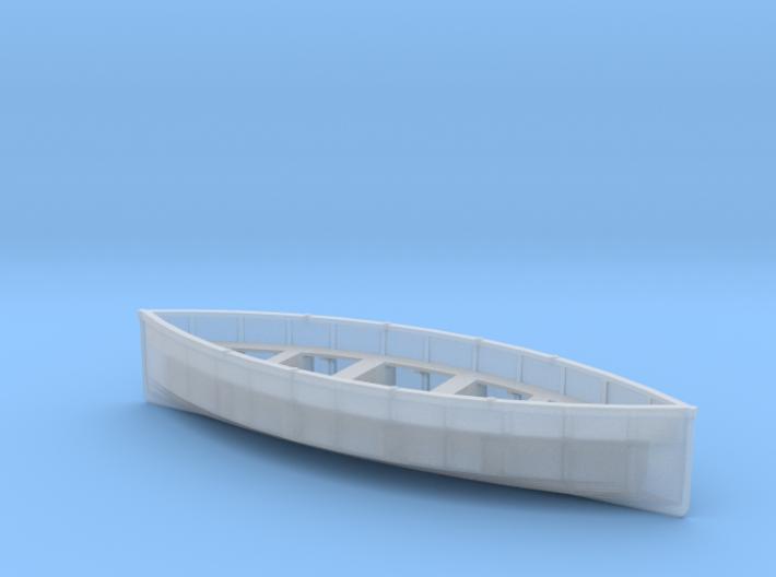 O-scale-life-boat-V3 3d printed