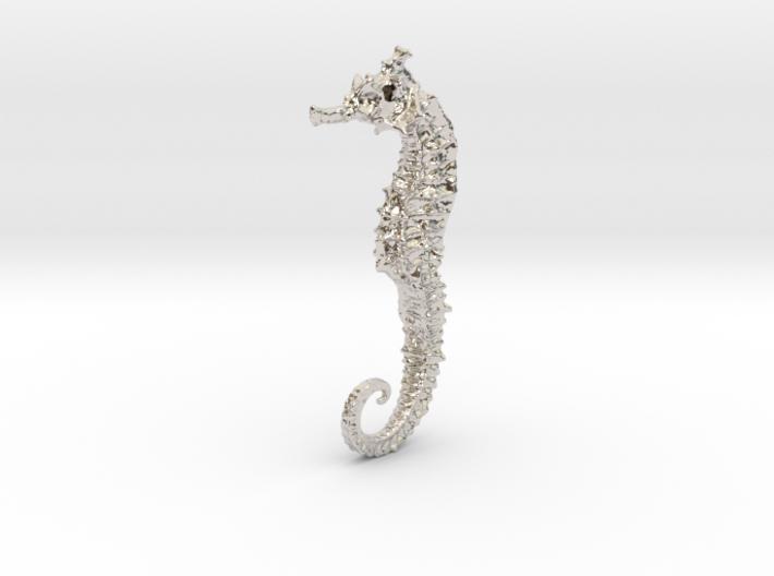 Seahorse Pendant 3d printed