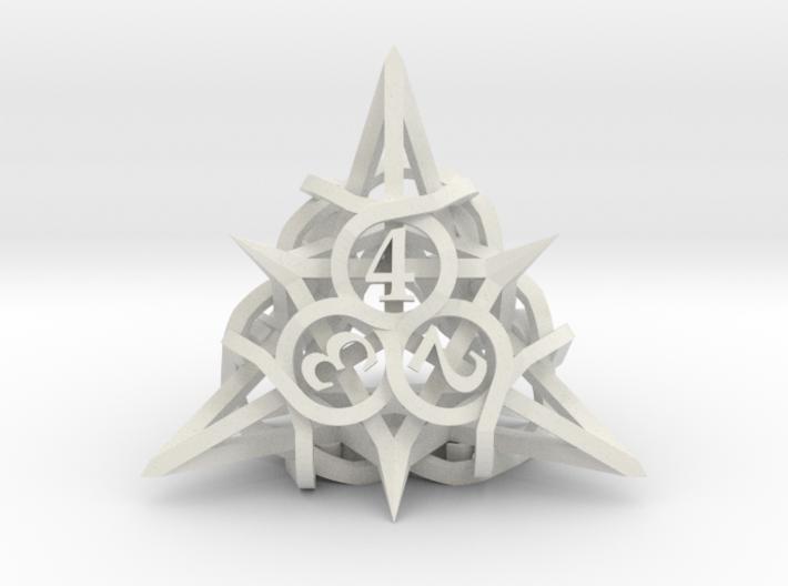 Thorn d4 Ornament 3d printed