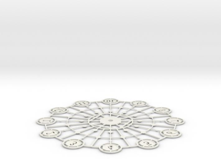 Kaleidoscope Clock - Part A 3d printed