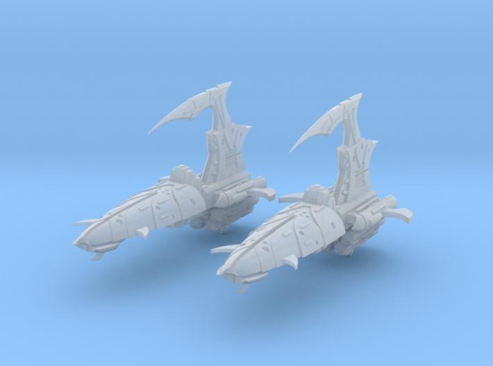 Blade Frigates (2) 3d printed