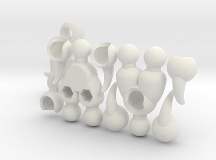 Beast Leg Set for ModiBot 3d printed Beast Leg Set for ModiBot