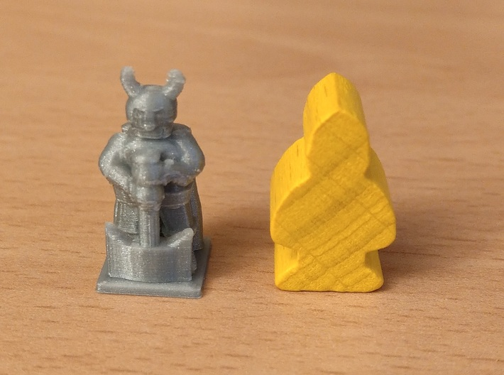 Viking Meeple - ideal for game A Feast for Odin 3d printed