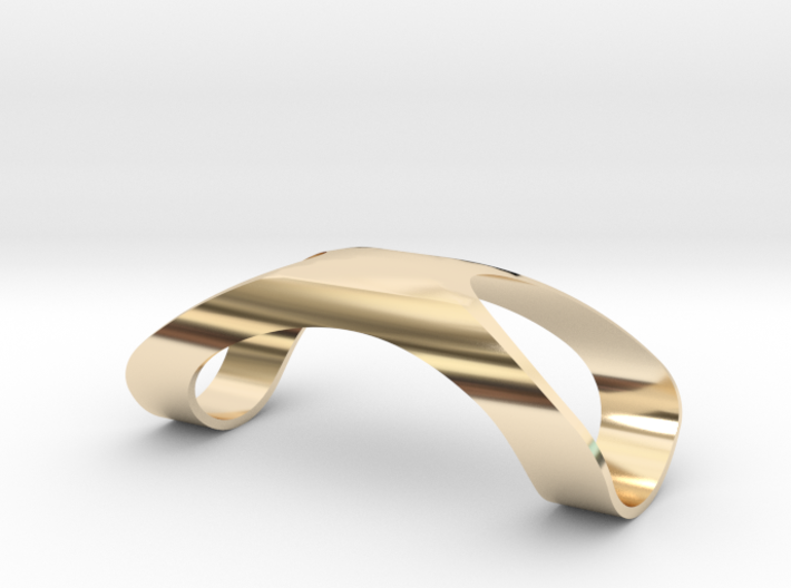 Finger Splint Ring Closed Top 3d printed