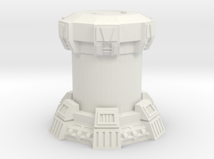 15mm Bacta Tank (Full) (1pcs) 3d printed