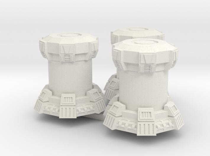 15mm Bacta Tanks (Full) (3pcs) 3d printed