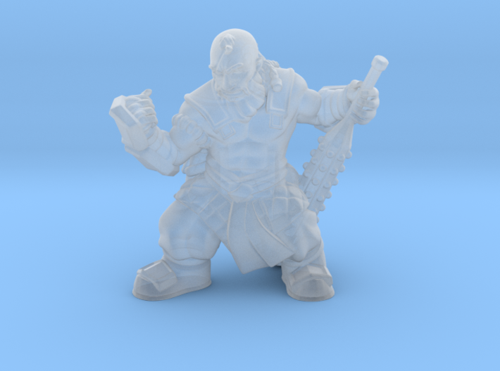 Dwarf Monk 3d printed