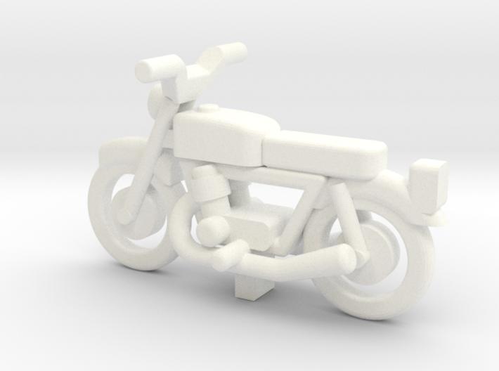 OO Gauge Generic Motorbike 3d printed