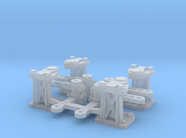 Renvoi D'angle 4 Ensembles 3d printed