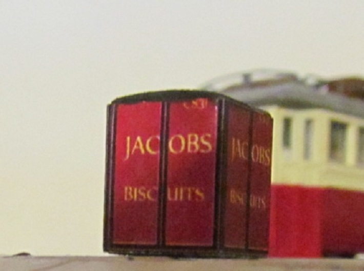 3mm Scale Jacob's Containers   3d printed