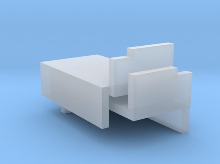 FR D1 & Cambrian SGC -P4 Cab Splashers 3d printed