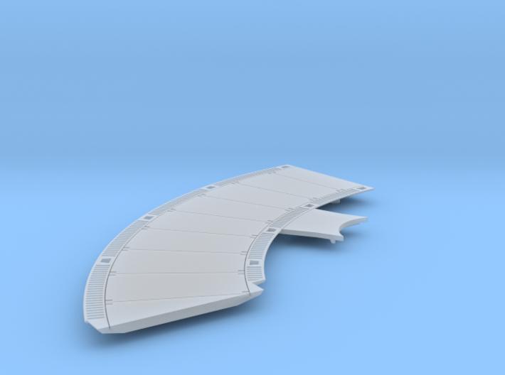 DeAgo Falcon Corridor - Starboard Floor - Extended 3d printed