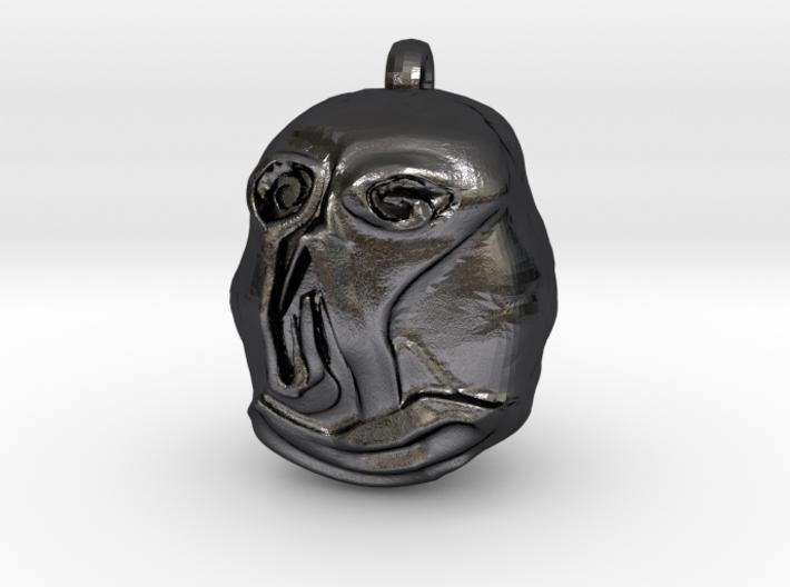"""Hello"" Carving Earring (Dark Souls) 3d printed"