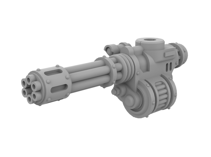 Mini Knight Rotary Gun (Left) 3d printed