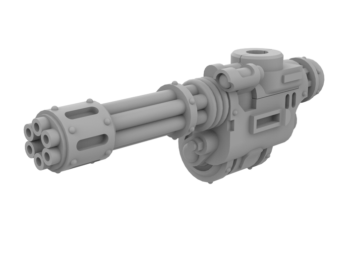 Mini Knight - Rotary Gun (Right) 3d printed