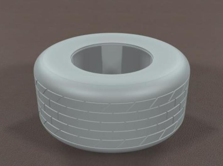 1/16 Hoosier Dirt Track Racing Tire 3d printed